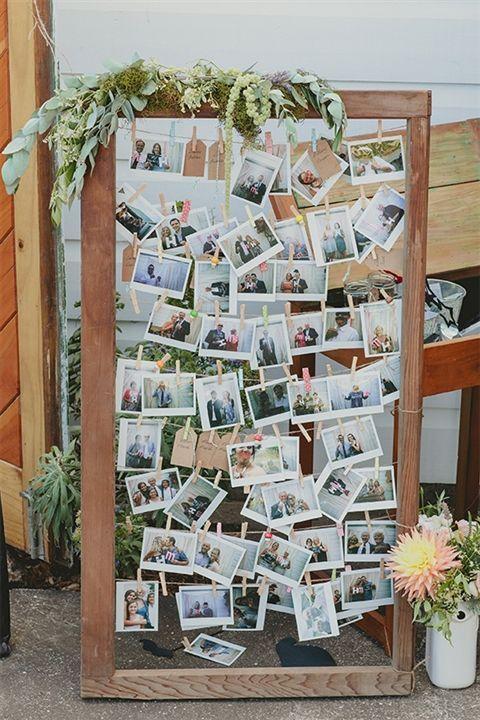 Свадьба - 21 Fabulous Wedding Photo Display Ideas