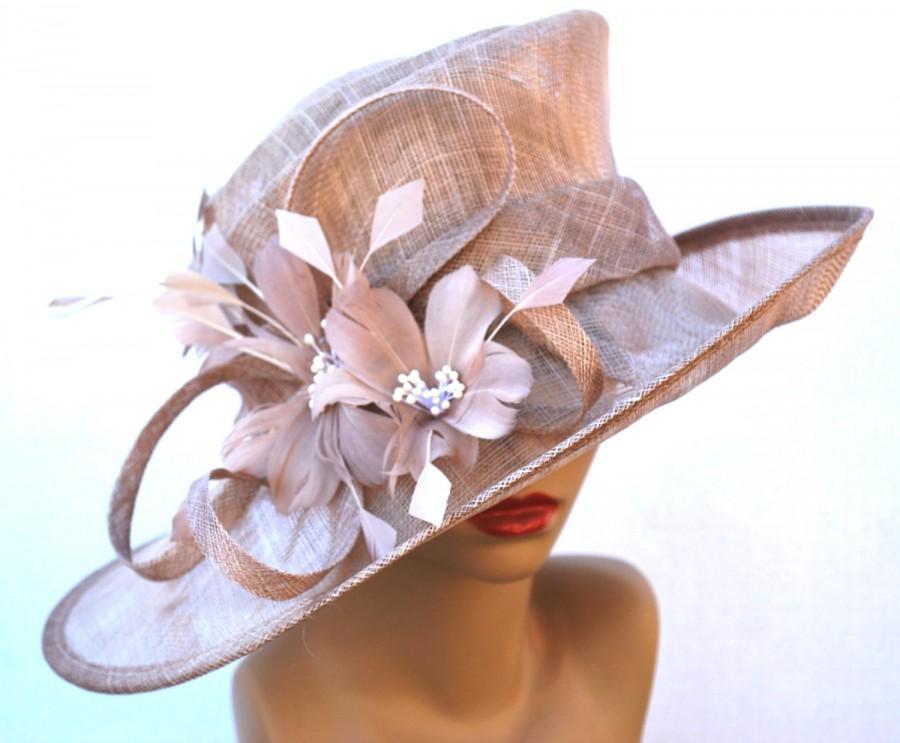 Mariage - Kentucky Derby Hat, Church hat, Tea Party Hat, Purple Hat, Fashion Hat, Church Hat, Derby Hat, Fancy Hat, Kentucky Derby Hat