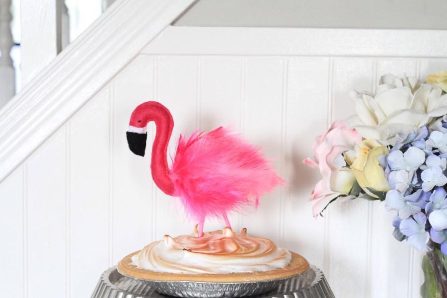 Свадьба - Flamingo Cake Topper - Farrah