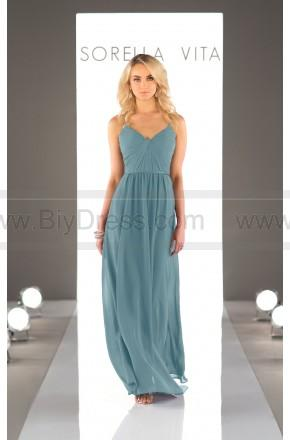 Wedding - Sorella Vita Chiffon Floor Length Bridesmaid Dress Style 8746