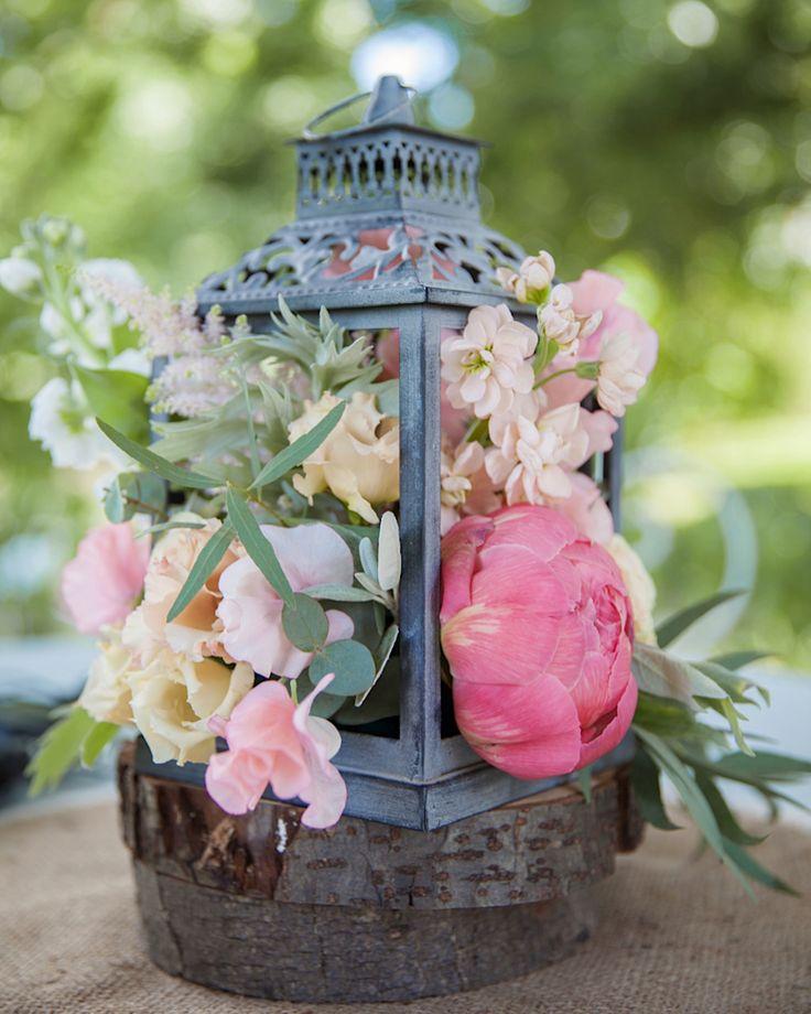 Hochzeit - Floral Table Centerpiece