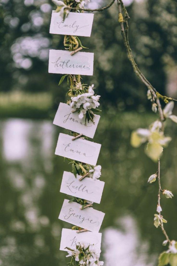 Свадьба - Escort Cards: Botanical Styling 5 Ways / Wedding Style Inspiration