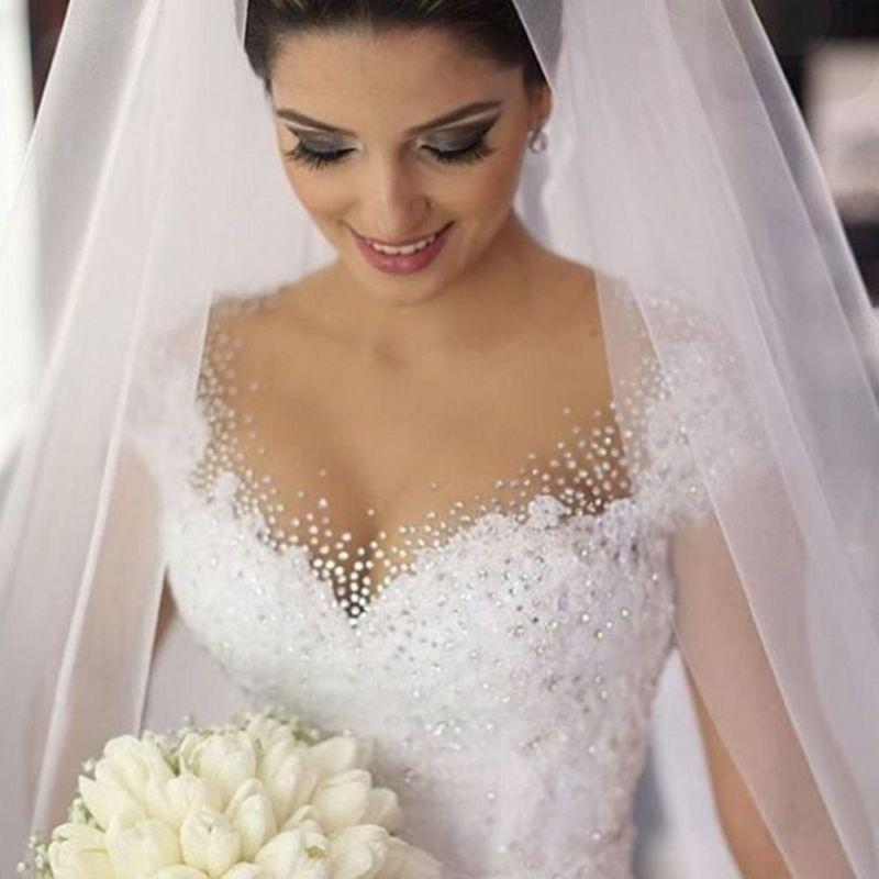 زفاف - New White/Ivory Wedding Dress Bridal Gown Custom Size6 8 10 12 14 16 +++
