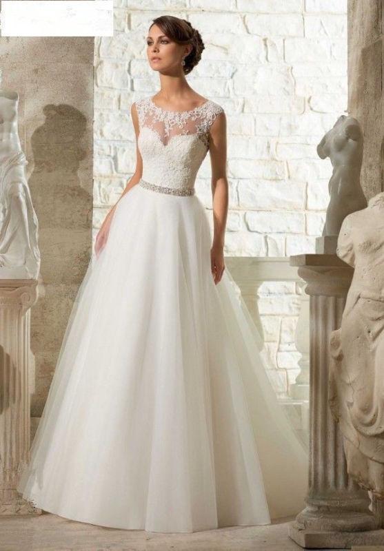 زفاف - New White / Ivory Wedding Dress Bridal Gown Custom Size 6-8-10-12-14-16++