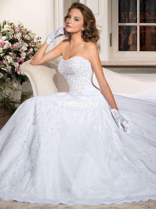 Свадьба - New White/Ivory Wedding Dress Bridal Gown Custom Size 6-8-10-12-14-16 18++++