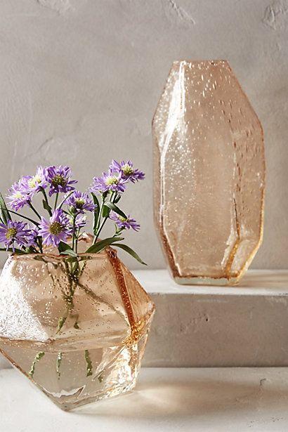 Свадьба - Faceted Gem Vase