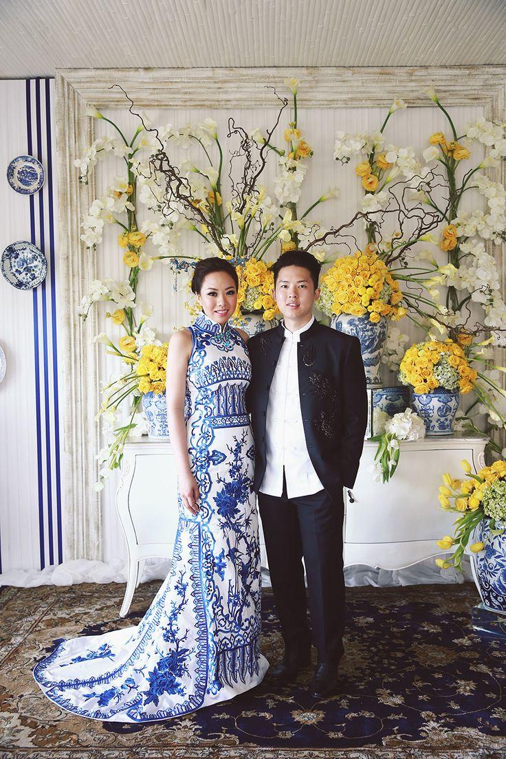 Mariage - Ronald And Evelyn's Colourful Wedding With Chinoiserie Touches