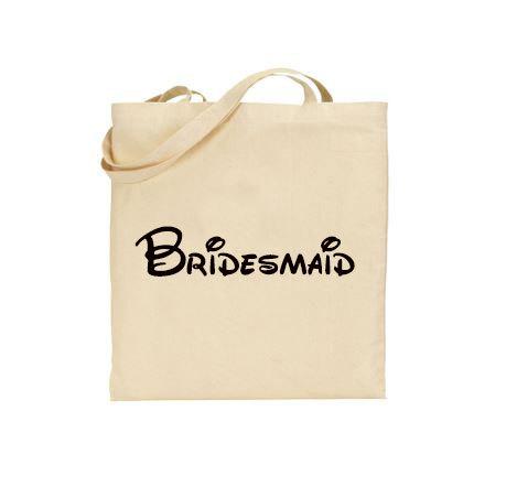 Свадьба - Disney Bridesmaid tote, Bridal Party tote bag, Disney wedding welcome bag, Disney Cruise Wedding, Bridesmaid gift bag, Disneyland Wedding