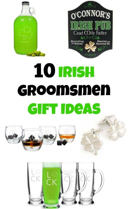 Свадьба - 10 Irish Groomsmen Gift Ideas