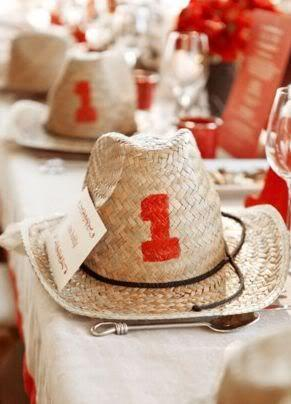Wedding - {Cowboys   Cotton}: A Palette Of Red, Camel   White