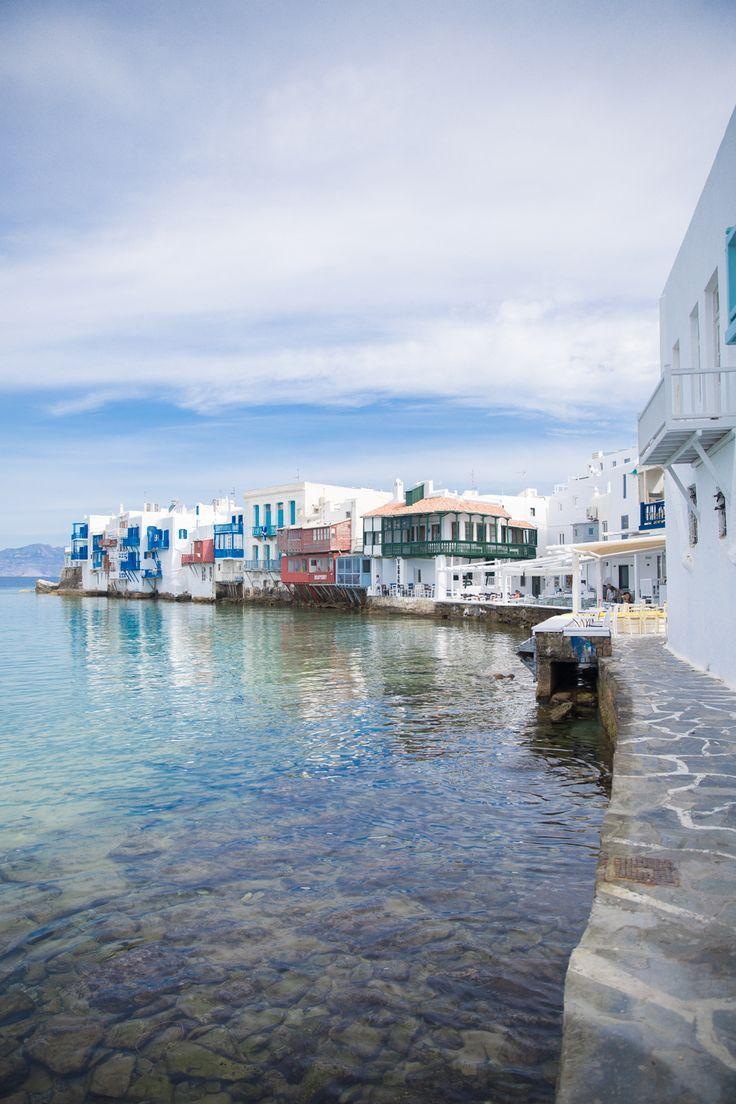 Hochzeit - The Cobbled Streets Of Mykonos, Greece