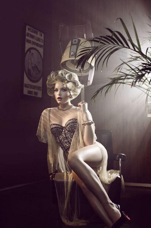 Свадьба - Pin-up Girl Themed Boudoir Photography Ideas