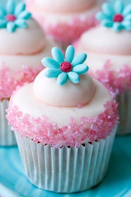Свадьба - Floral Cupcake