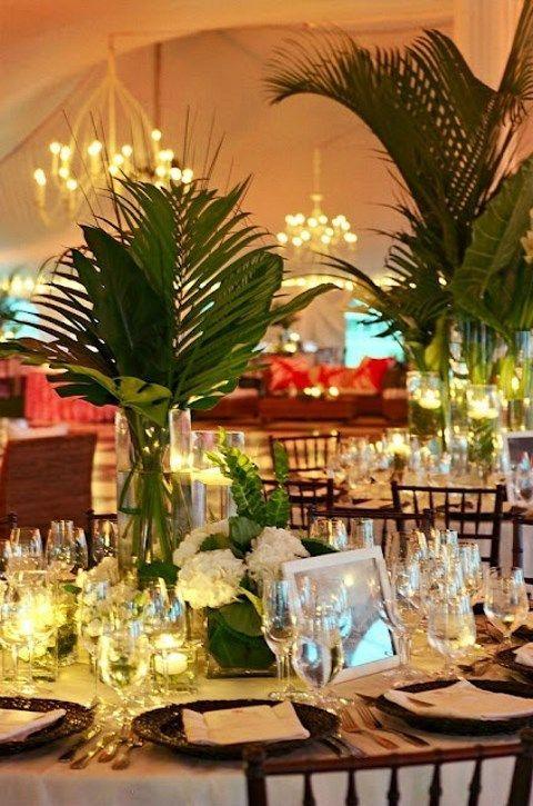 57 Cheerful Tropical Wedding Table Settings #2550245 - Weddbook