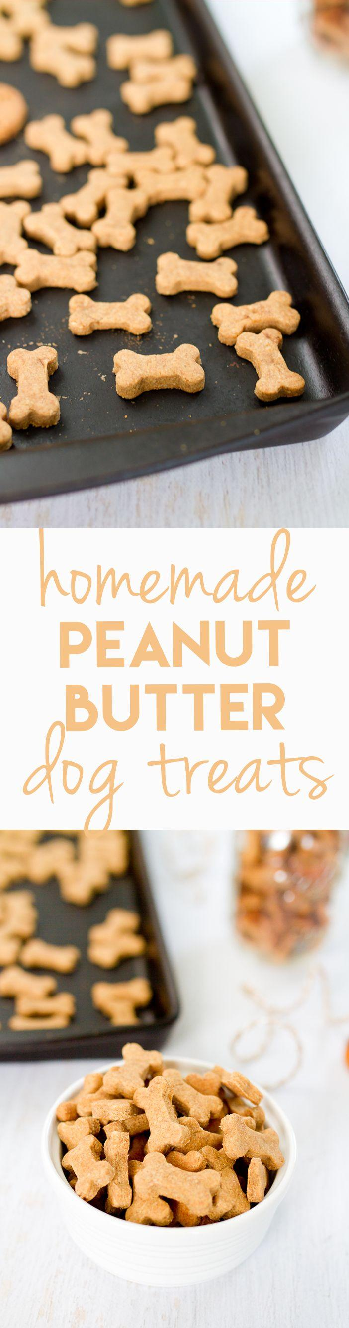 Wedding - Homemade Peanut Butter Dog Treats