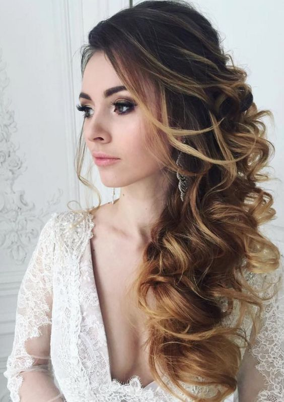 200 bridal wedding hairstyles for long hair that will inspire 2550471 weddbook. Black Bedroom Furniture Sets. Home Design Ideas