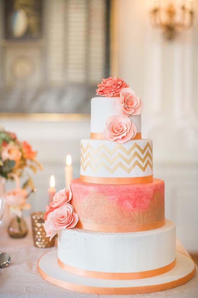 Wedding - 30 Simple, Elegant, Chic Wedding Cakes