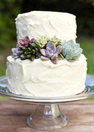 Свадьба - Succulent Wedding Cake