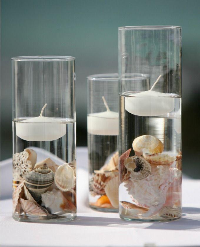 Beach Wedding Centerpieces.Wedding Theme Beach Wedding Centerpieces 2550498 Weddbook