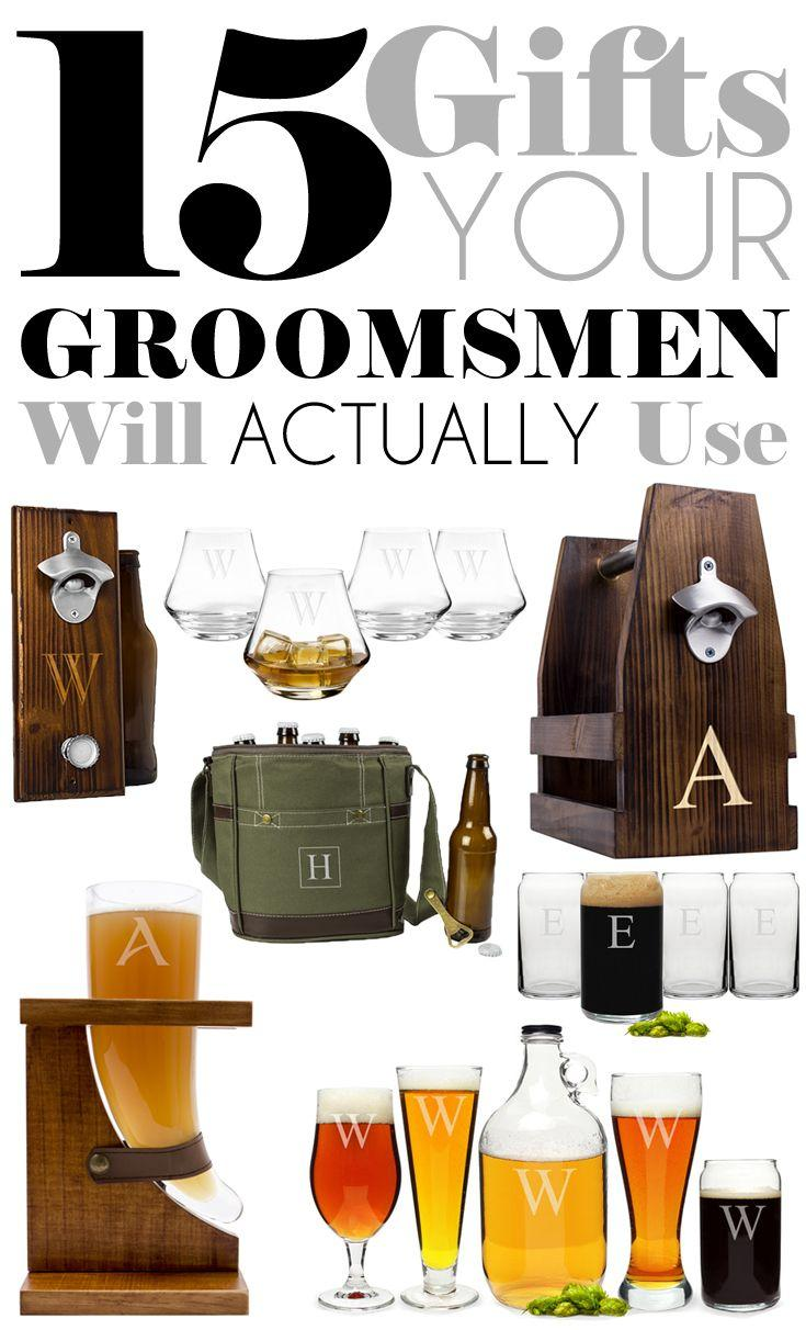 Свадьба - 15 Gifts Your Groomsmen Will Actually Use