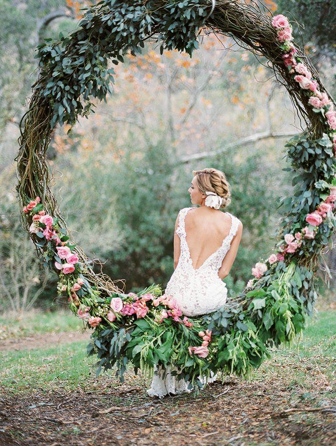 Свадьба - Spring Wedding Ideas With A Touch Of Bohemian Style