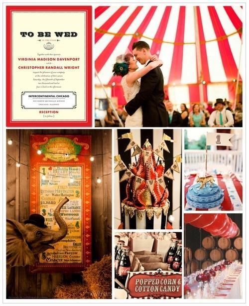 Свадьба - Big Top Wedding Inspiration Board