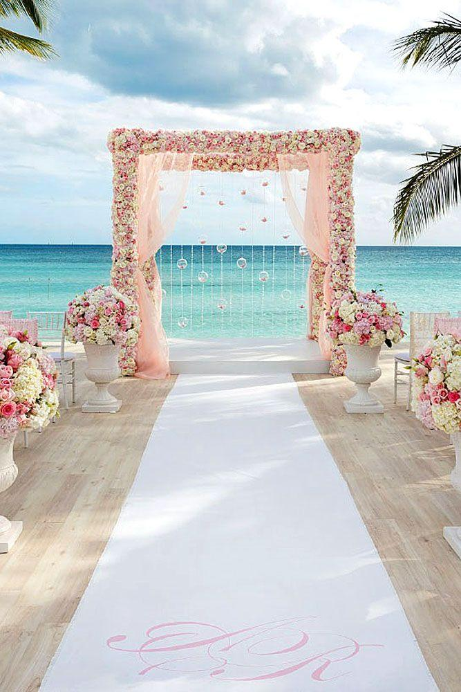 Lovely Gorgeous Beach Wedding Decoration Ideas