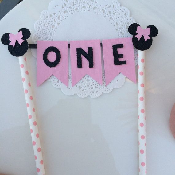 Wedding Theme Minnie Mouse Birthday Cake Topper 2550658 Weddbook