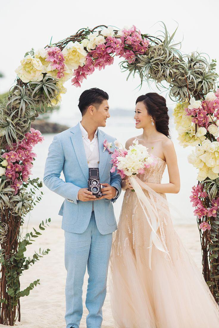 Свадьба - Love Deeper Than The Ocean: A Styled Shoot At Tanjong Beach Club - Part 1