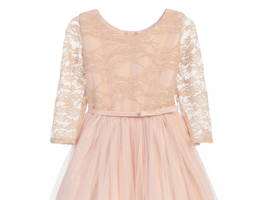 Long Sleeve Dresses for Junior Bridesmaids
