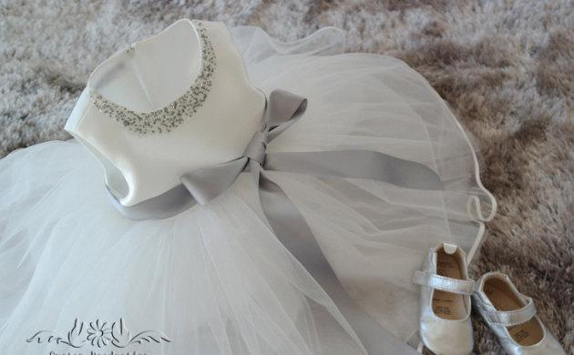 Свадьба - Flower Girl Dress,junior bridesmaid Dress,cheap flower girl dress,party dress rustic flower girl dress, flower girl dress with beading