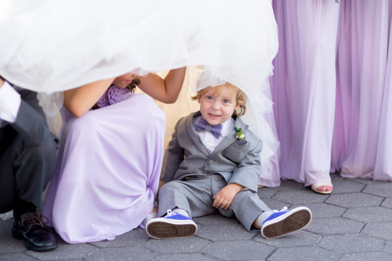 زفاف - Wedding ringbearer bow tie Embroidered bowtie Pageboy bow tie Easter Bow Tie for Boys Newborn bow tie Christening bow tie Boys photo prop BІ