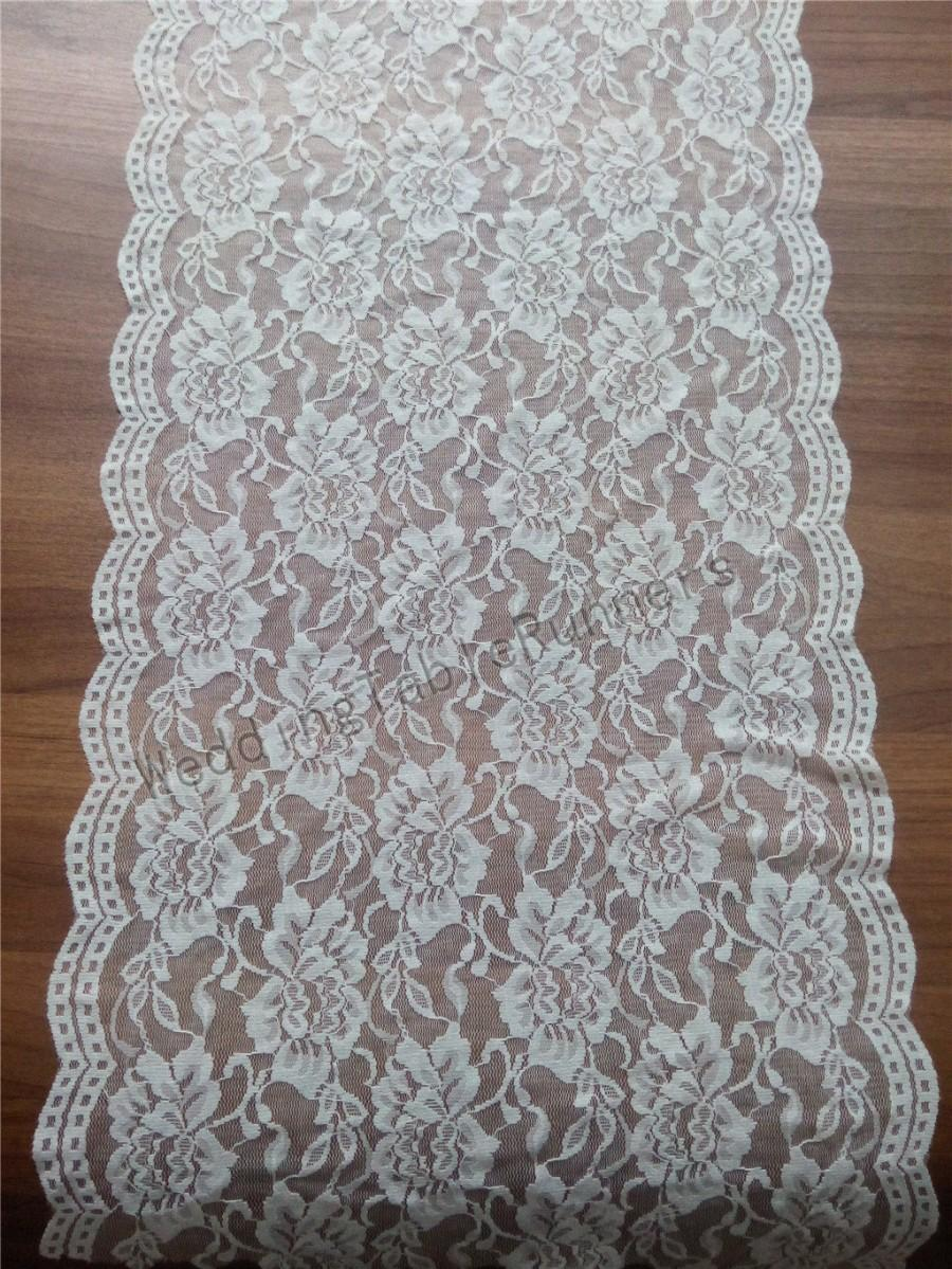 Ivory Lace Table Runner 12 Wedding White Runners R112431