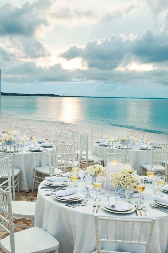 Mariage - Sandy Blue Beach Wedding