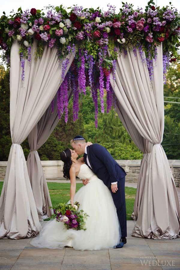 Свадьба - A Majestic Purple-Infused Castle Wedding
