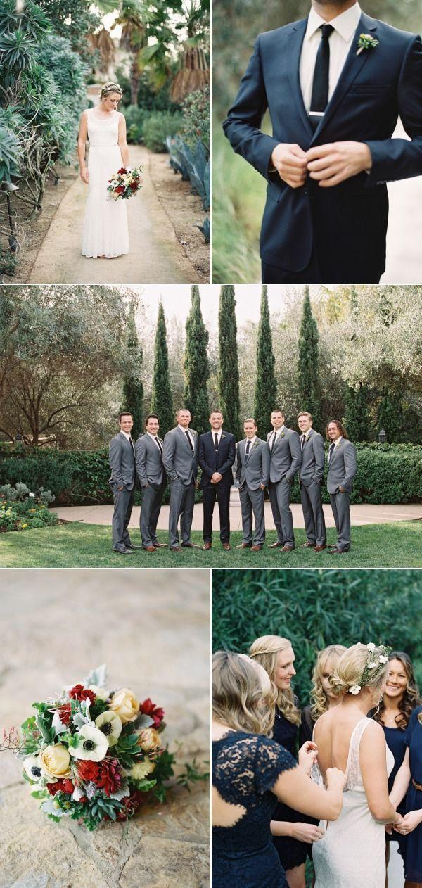 Hochzeit - Organic Winter Wedding In La Jolla