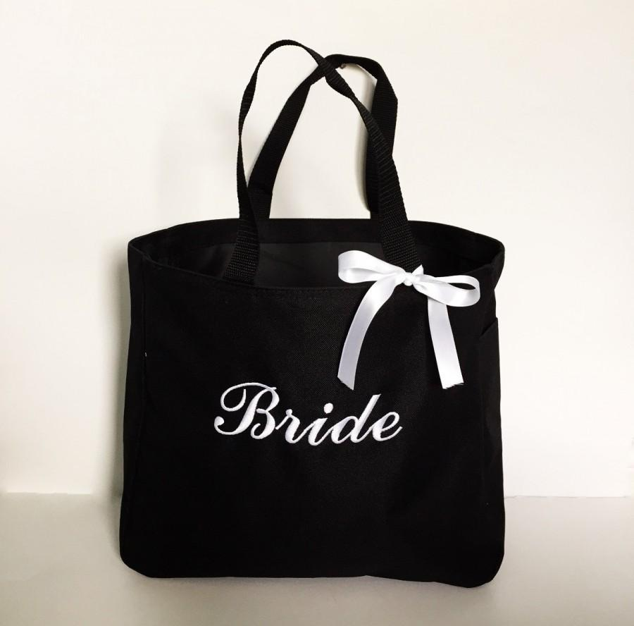 Bridesmaid Tote Bags Set Of 4 Totes Gifts Personalized Simply Name It