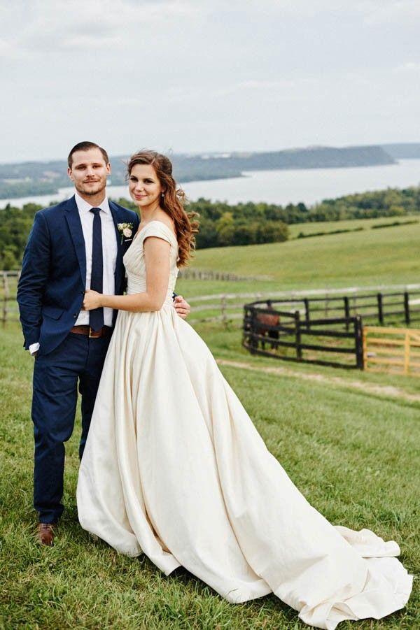 Wedding - Stunningly Thoughtful Lauxmont Farms Wedding In Pennsylvania