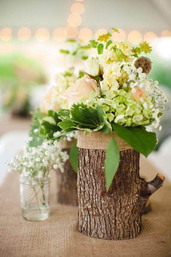Log Vases Coasters