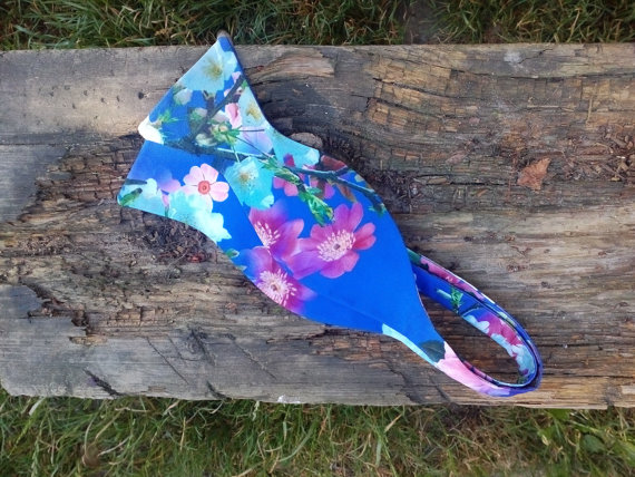 Mariage - Blue bow tie floral self tie bowtie freestyle now ties for men men's ties by Accessories482 wedding bowties groomsmen ties gift for boys