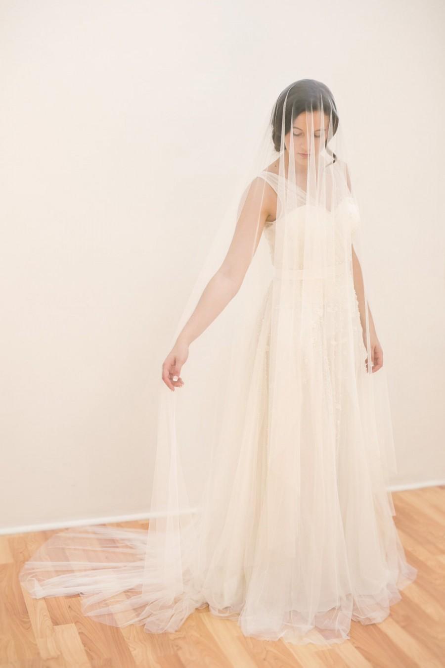 Hochzeit - Luxurious long veil - VICTORIA