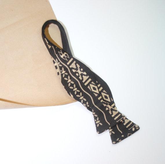 Hochzeit - Dark brown bow tie for men Self-tied bow ties Dunkelbraun fliege für männer Тъмно кафява папийонка за мъже Mørk brun butterfly for mænd