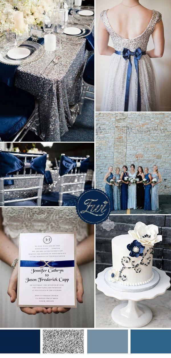 زفاف - Wedding Trends:Seven Stunning Wedding Color Ideas In Shades Of Metallic
