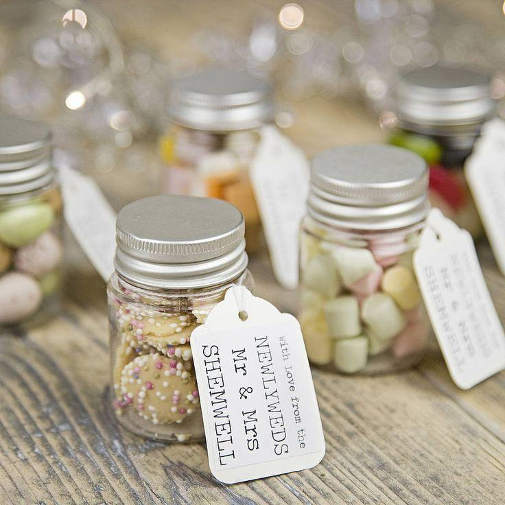 Food Favor Personalised Wedding Favour Sweetie Jar 2551963