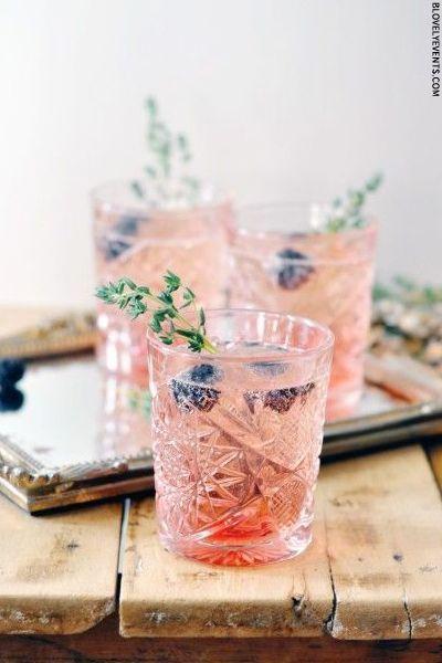 Hochzeit - Prosecco Cocktails