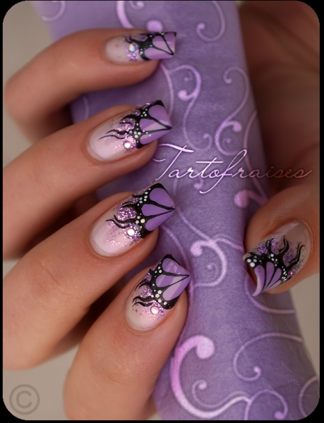 nail nail art on my natural nails 2552063 weddbook. Black Bedroom Furniture Sets. Home Design Ideas