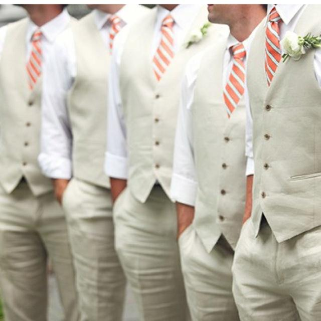 Свадьба - 3 Dapper Summer Style Ideas For Grooms And Groomsmen