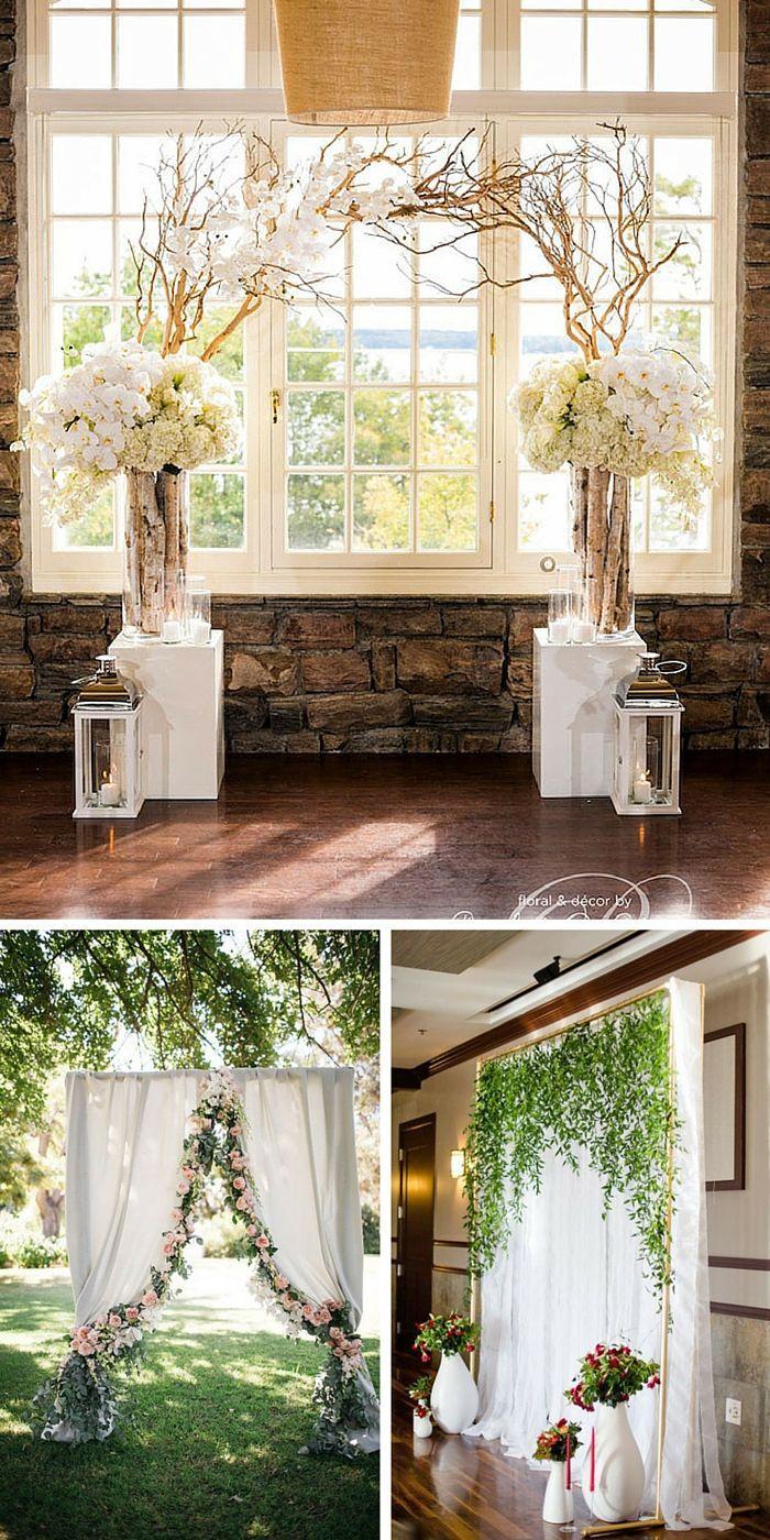 33 Wedding Backdrop Ideas For Ceremony, Reception & More #2552092 ...