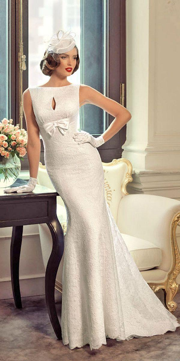 Mariage - 1960s Bridal Gowns With A Retro Feel