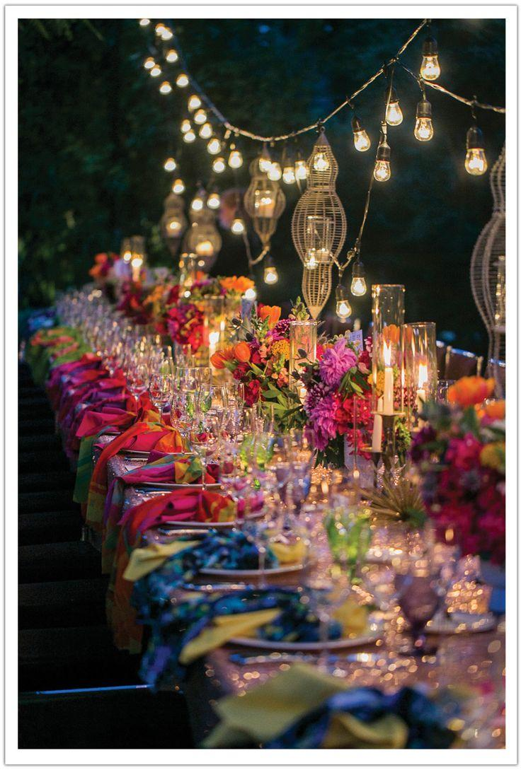 Свадьба - Colorful Parker Palm Springs Wedding